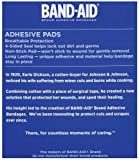 Band-Aid Brand Tru-Stay Adhesive Pads, Large