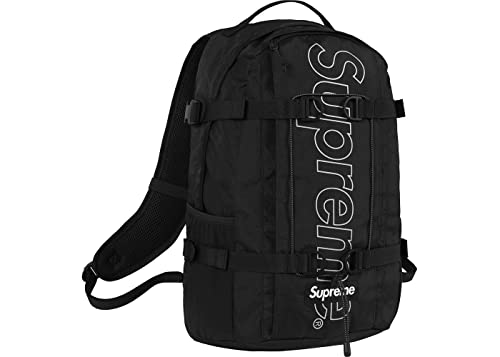 newest 54686 8bd75 Supreme Backpack OSFA Black