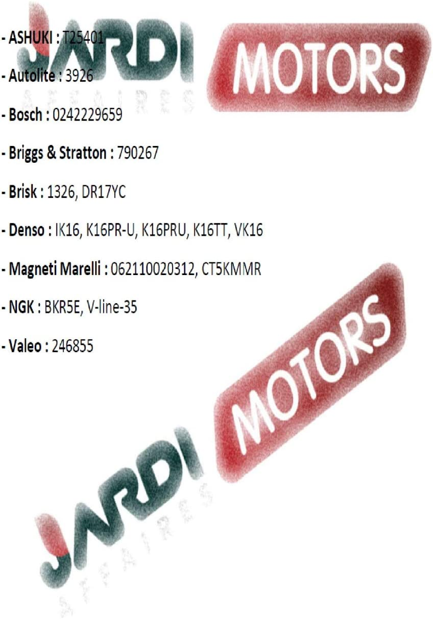 Jardiaffaires Z/ündkerze Champion XC92YC f/ür Thermomotor