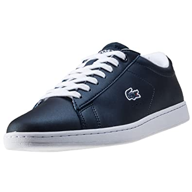 1be4db1d2 Lacoste Carnaby Evo 117 3 Womens Trainers Navy - 8 UK  Amazon.co.uk ...