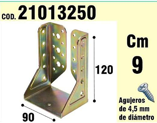 65/ x 90/ x 90//135/ /° Angle WOLFPACK 21013065/  / Bracket for wood