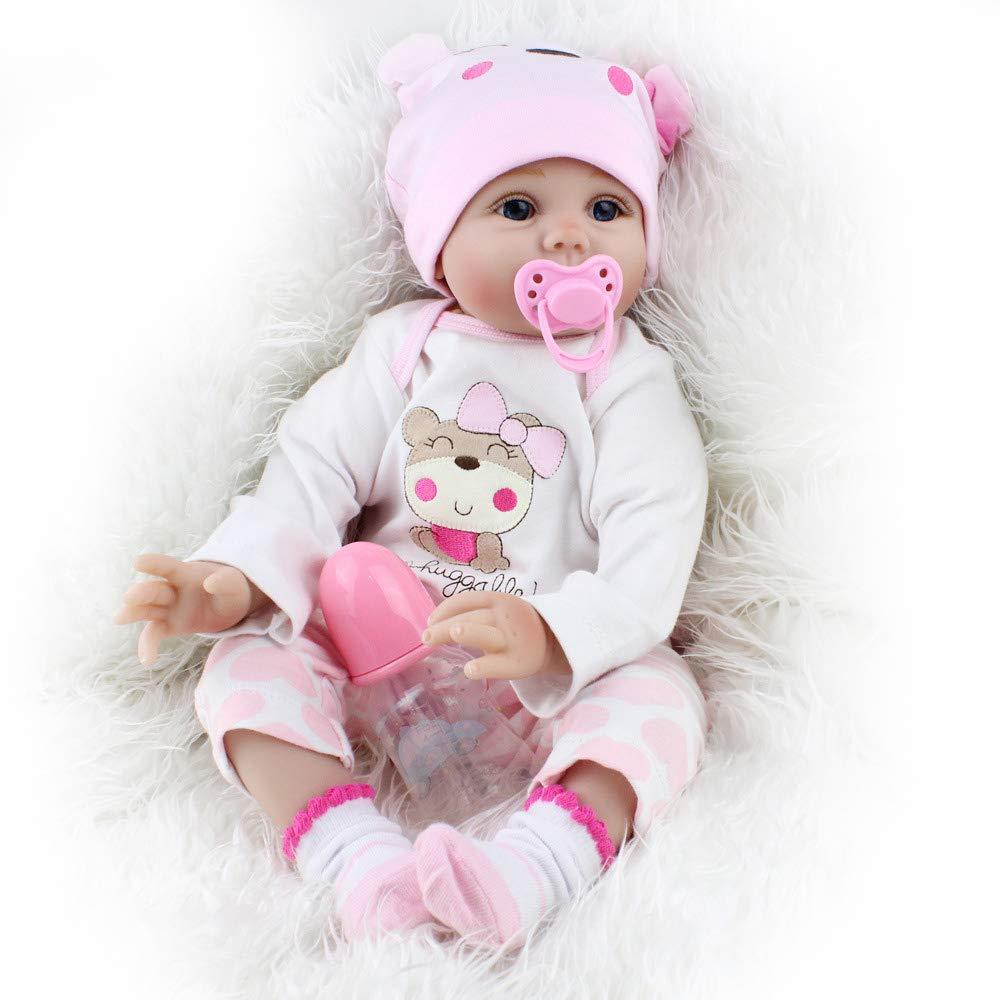 Amazon.es: OUBL 22pulgadas 55 cm Silicona Vinilo Toddler ...
