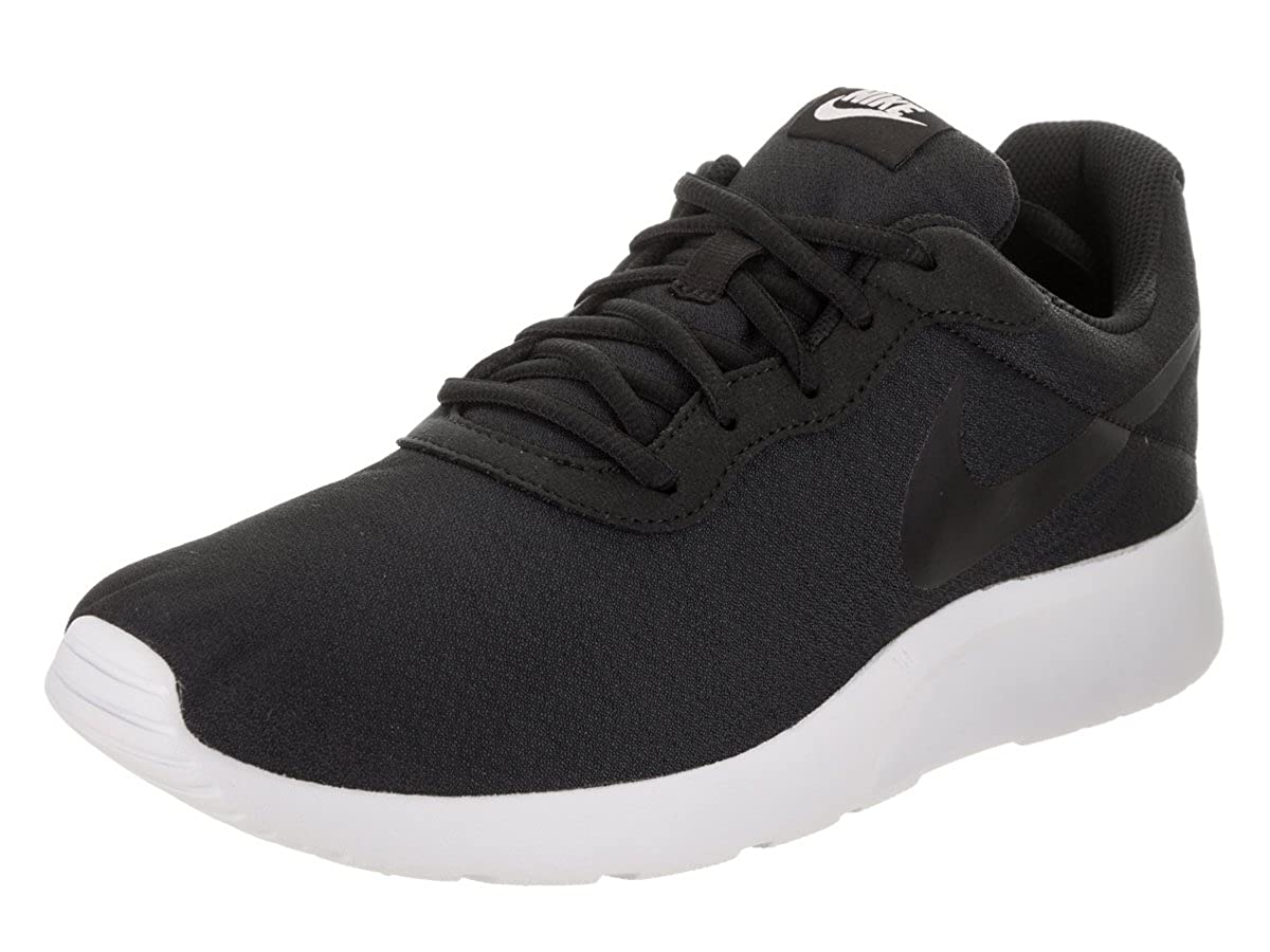 Nike Herren Tanjun Schwarz Textil Synthetik Turnschuhe 45