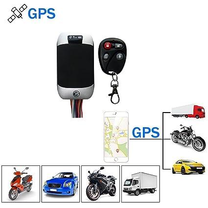 TKSTAR Rastreador GPS Coche Vehículo Motocicleta GPS Localizador GPS Tracker con Tiempo Real Sistema de Seguimiento: Amazon.es: Electrónica