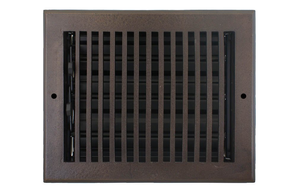 Hamilton Sinkler WVF-810-BP Hamilton Sinkler Flat Wall Vent with Damper, 8 by 10-Inch, Bronze Patina