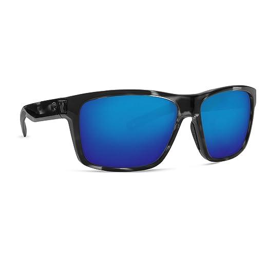 Costa Del Mar Slack Tide Sunglasses, OCEARCH Tiger Shark, Blue 580G Glass Mirror Lens