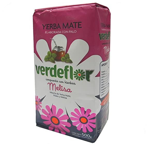 Yerba mate Verdeflor Poleo y Melisa 500g: Amazon.es ...