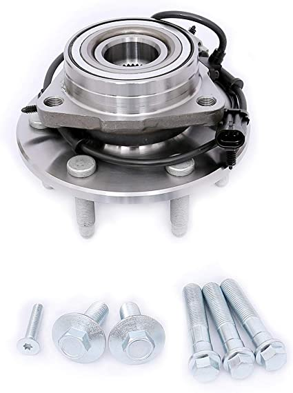 4WD Only FKG 515096 Front Wheel Bearing Hub Assembly GMC Sierra Yukon XL 1500 6 Lugs W//ABS for Cadillac Escalade ESV EXT Chevy Avalanche Silverado Suburban Tahoe