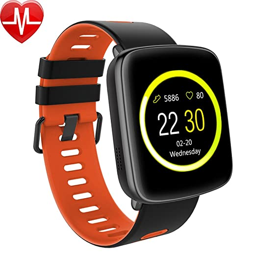 39 opinioni per Smart Watch, Willful Smartwatch Impermeabile IP68 Cardiofrequenzimetro Android