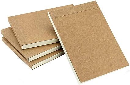 Nero Pagine Bianche Quaderno Pro A4 Copertina Rigida