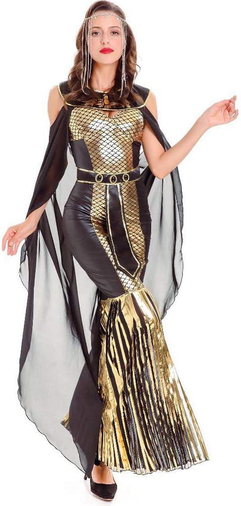 ZzheHou Disfraces de Halloween Damas Sexy Capa Diosa Serpiente ...