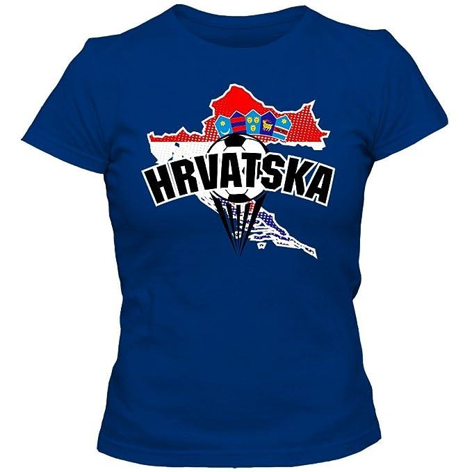 Croacia Campeonato de Europa 2016#1 Camiseta | T-Shirt | Fútbol | Mujer