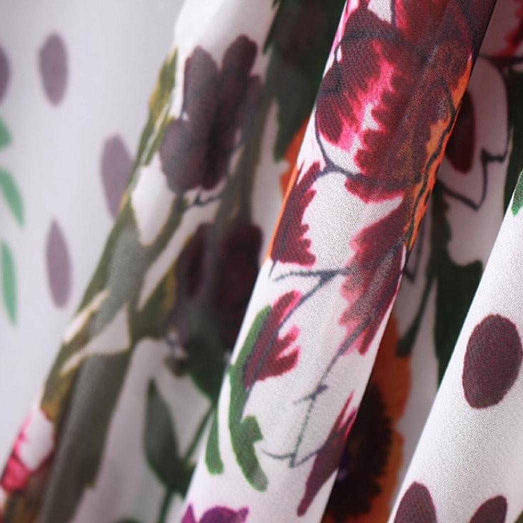 DEELIN Camisa con Cuello Alto De La Rebeca del Kimono del Chal ...