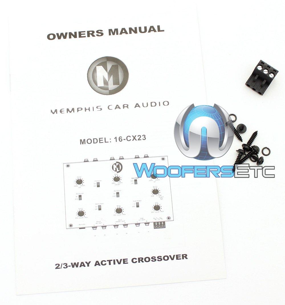 16 Cx23 Memphis 2 3 Way Active Crossover Electronics Wiring Diagram