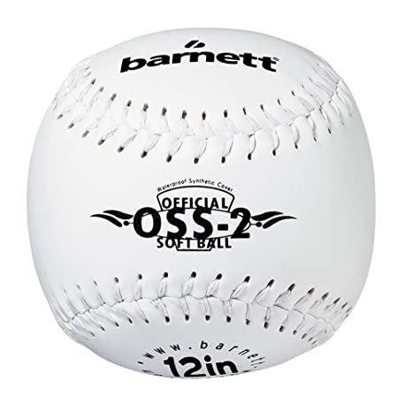 Pelota de béisbol OSS 2 principiante Softball, tamaño 30,48 cm, 1 ...