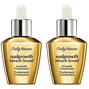 Sally Hansen Nail Treatment Nailgrowth Miracle Serum, 2 Count