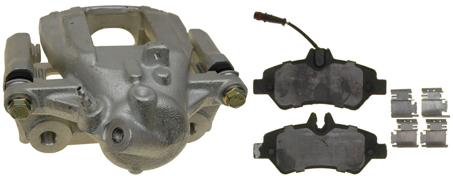 ACDelco 18R12322 Professional Rear Disc Brake Caliper Assembly with Pads Remanufactured Loaded