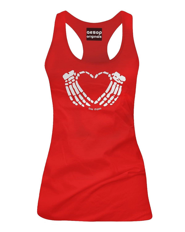 Aesop Originals Women's Crimson Heart Tank Top Red