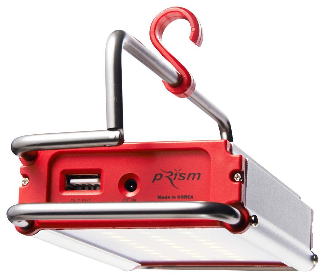 PRISM(プリズム) CLAYMORE 充電式LEDランタン クレイモアM 電球色 USBポート付 CL1000WA B0175KR0VE 15139
