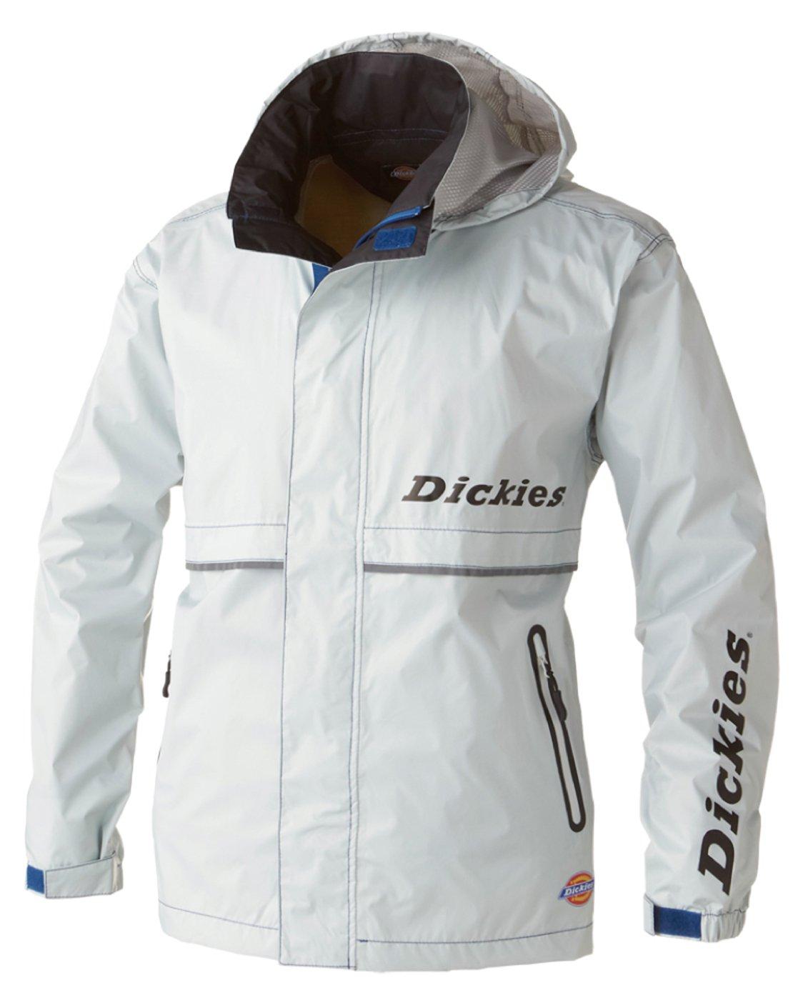 Dickies(ディッキーズ) Dickies レインウェア 上着 合羽 メンズ cc-d3505 B078TVN57P L|シルバー シルバー L