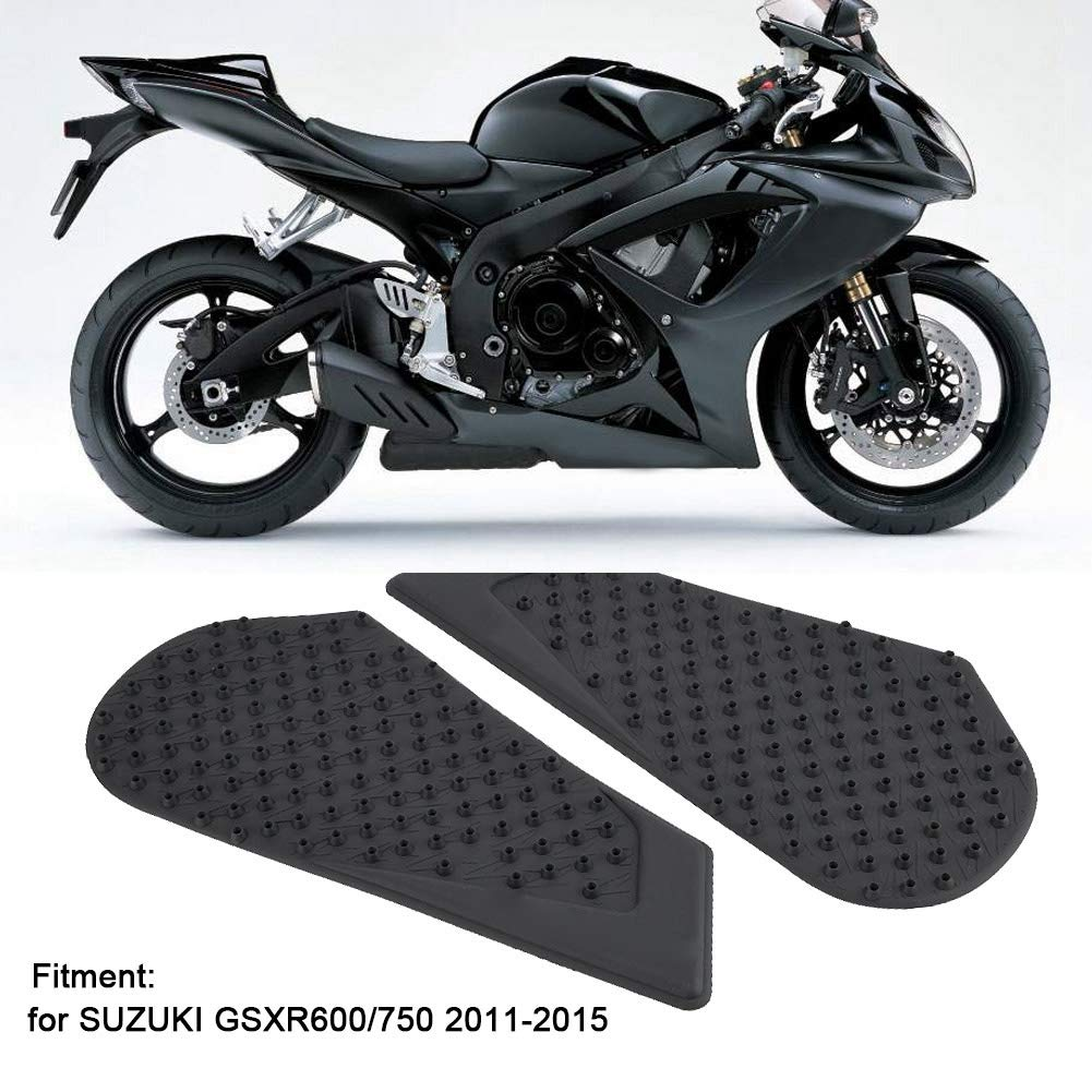 Anti-Slip Side Pad Knee Grip Protector Fits for GSXR600//750 Acouto Motorcycle Gas Tank Traction Pad