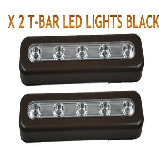 Luces LED autoadhesivas para pegar en armarios, despensas, alacenas, dormitorios, maletero del