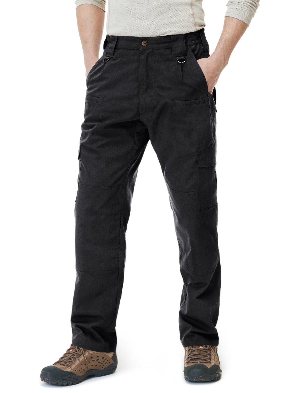CQR CLSL CQ-TLP104-BLK_32W/32L Men's Tactical Pants Lightweight EDC Assault Cargo TLP104 by CQR (Image #6)