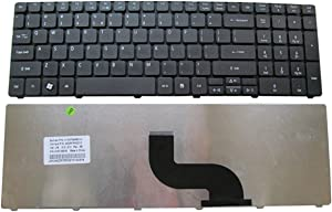 KEYSHEN Laptop Notebook Replacement Keyboard for ACER 5552G 5739 5542 5410 5430 5532 5336 5410 7751 US Layout