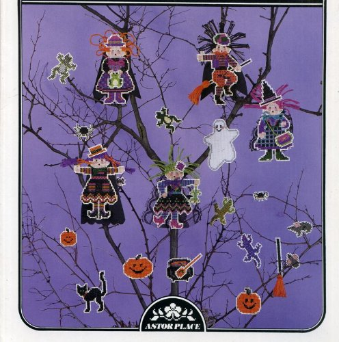 Witches & Widgets Perforated Paper Halloween Decorations (Book 51)
