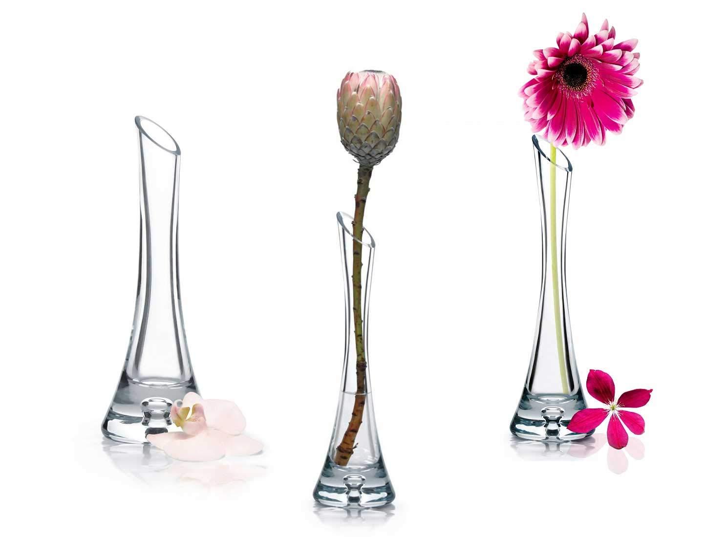 Deko Vase Blumenvase Glasvase Tisch Vase Geschenkvase Neu
