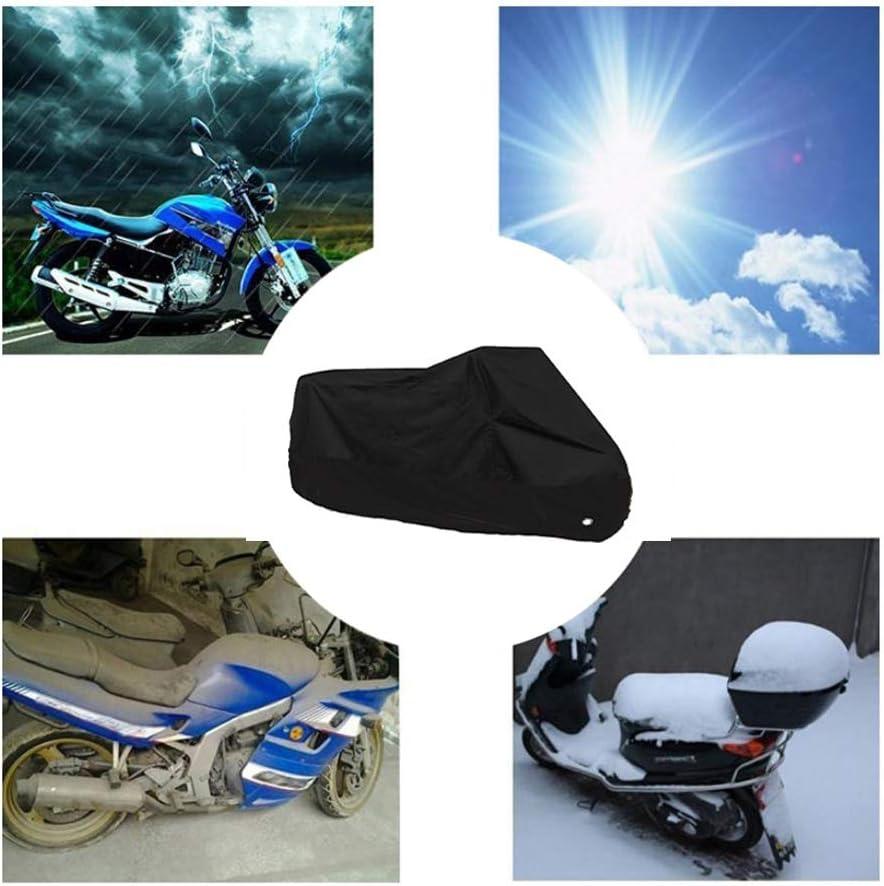 Toutes Saisons imperm/éable cr/ème Solaire antisalissure Ext/érieur Int/érieur 190T Housse for Moto 7colors Housses de Moto Compatible avec la Couverture Moto Yamaha Tricker 250