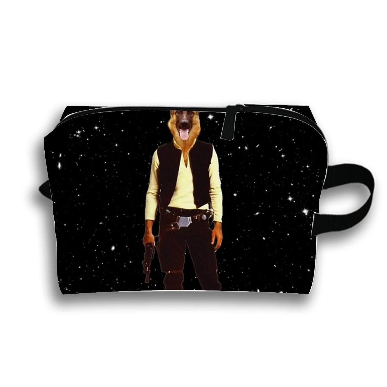 Amazon Com Han Solo Star Wars Dog Travel Cosmetic Bag Portable
