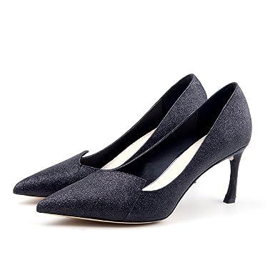 Frauen Sommer Strass Sandalen Sexy High Heels Abend Hochzeit Pumps Damen Klassische Shiny Spitzschuh Schuhe