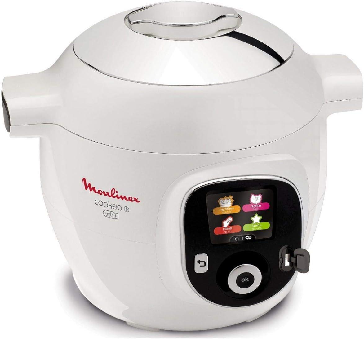 Moulinex Cookeo - Robot inteligente de cocina + USB con 150 ...