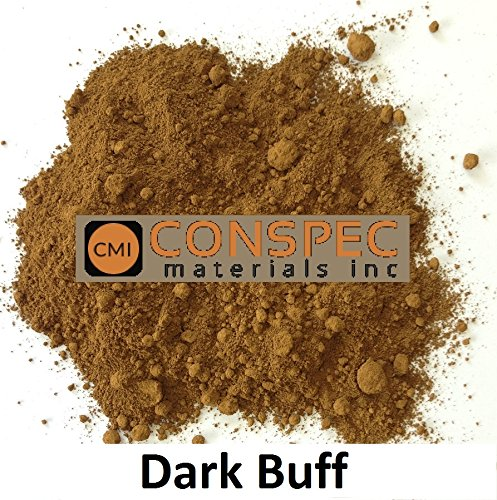Conspec 1 Lbs. DARK BUFF Powdered Color for Concrete, Cement, Mortar, Grout, Plaster