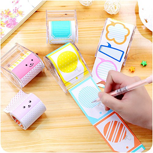 Sticker Post It Bookmark Marker Memo Flags Index Pad Tab Sticky Notes Dispenser