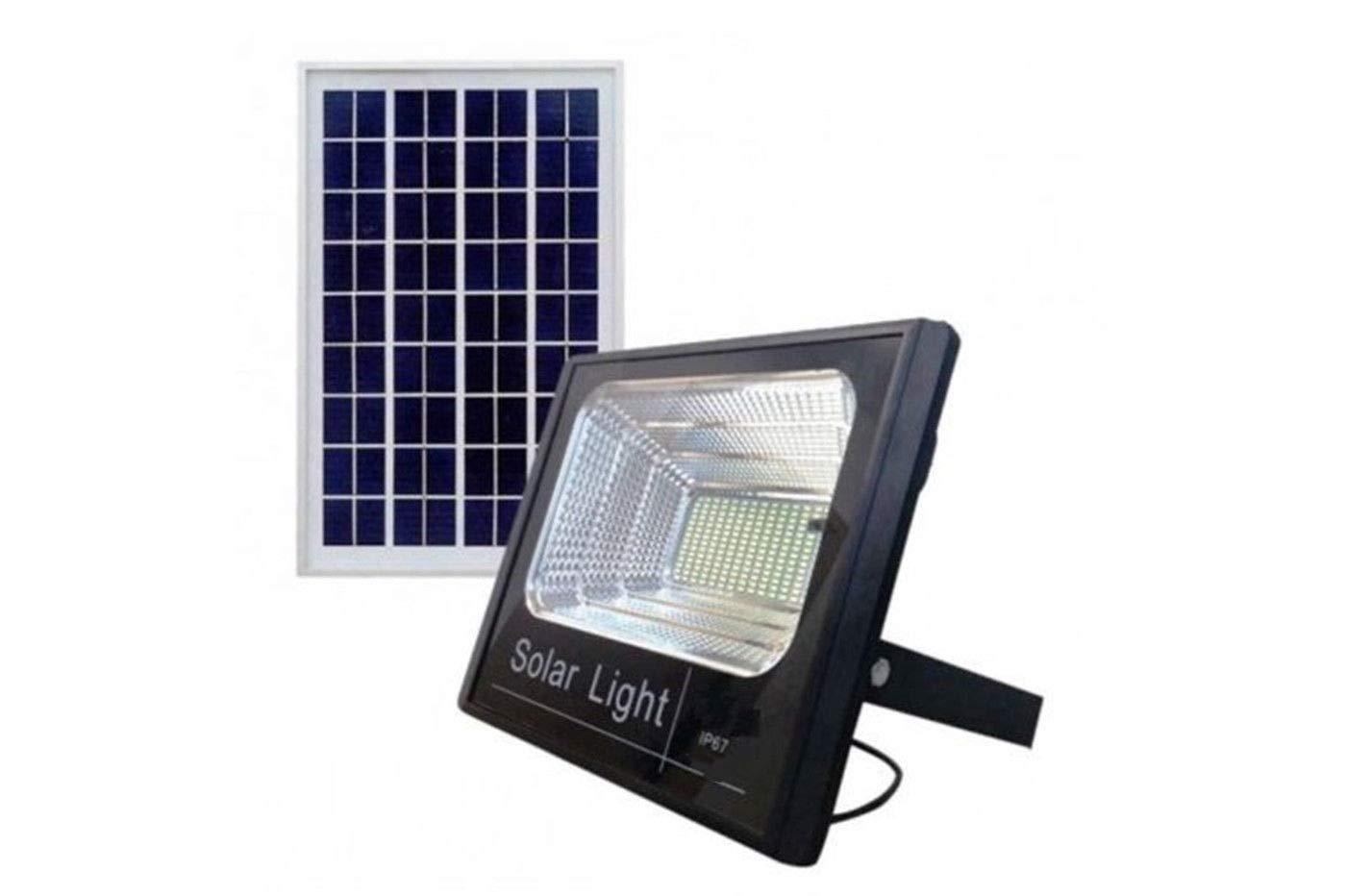 Led proiettore solare esterno applique con sensore di movimento