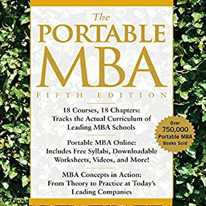 The Portable MBA Hörbuch