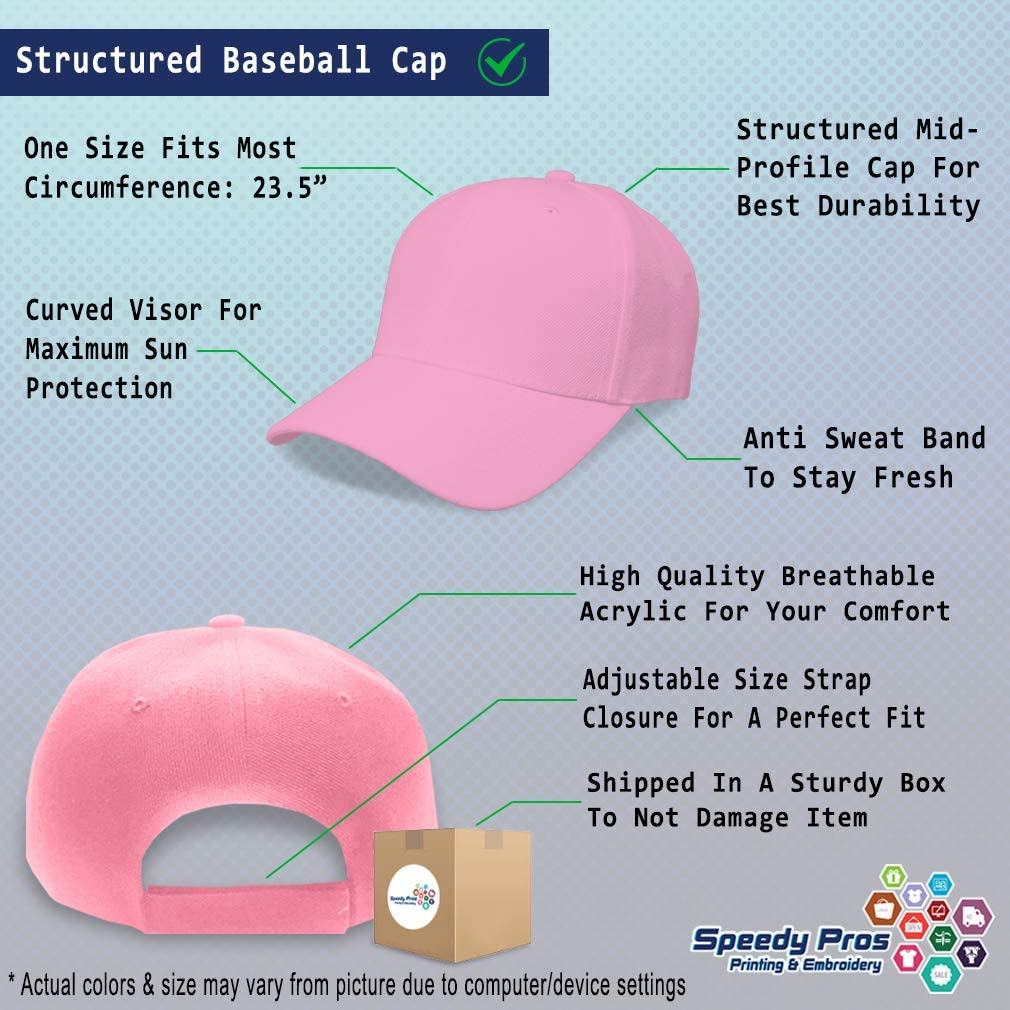 Custom Baseball Cap Stegosaurus Style C Embroidery Dad Hats for Men /& Women