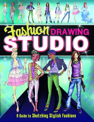Fashion Drawing Studio: A Guide to Sketching Stylish Fashions (Craft It Yourself) by Capstone Young Readers