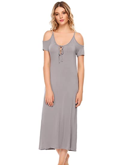 Women's Sleepwears New Autumn Style Women Sleepwear Cotton Print Sexy Sleeping Dress Nightgown For Ladies Womens Home Clothes Sleepwear Nightgowns & Sleepshirts