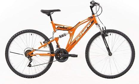 SCHIANO Rider 26 Pulgadas MTB Fully Cilindro de Mountain Bike 18 ...