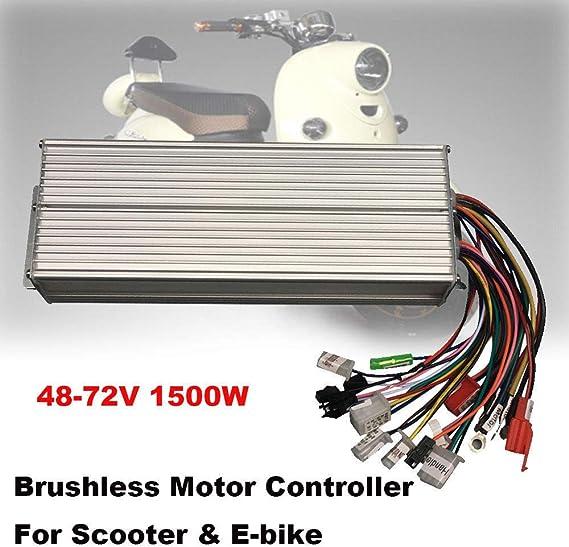 Amazon.com: DOMINTY 48 – 72 V 1500 W controlador de motor de ...