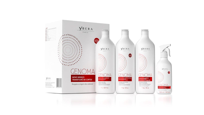 Keratin Ybera Genoma Cortex Transfusion Therapy 35.20 Oz by Ybera Professional (Image #2)