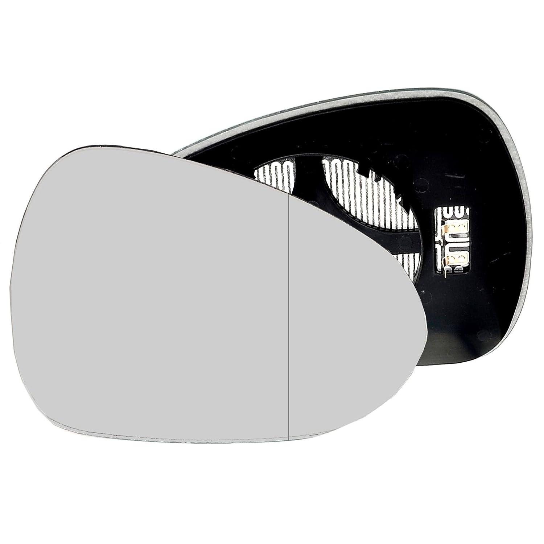 2015/pilote c/ôt/é droit Wing Porte Miroir Grand Angle Verre chauff/é avec plaque de dos Pour Seat Ibiza 2008
