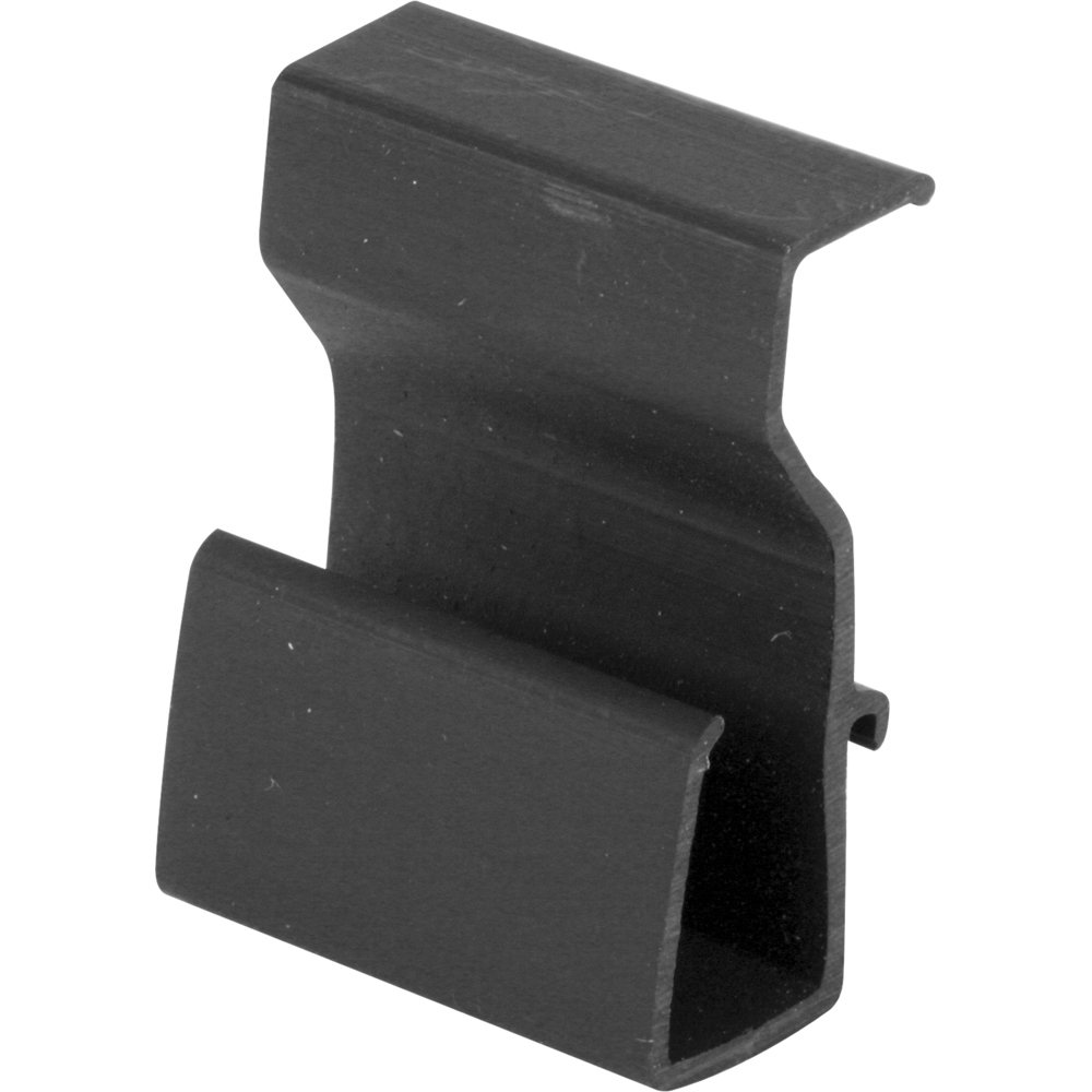 Prime-Line Products L 5795 Lift Clips, 3/8-Inch, Black Plastic,(Pack of 4)