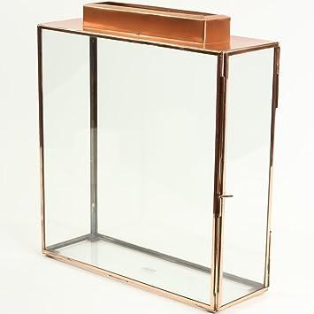 amazon com koyal wholesale glass wedding card gift box holder