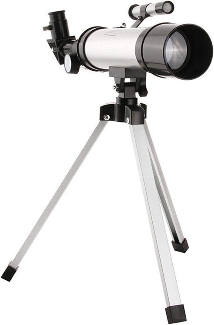 360/50mm Refractive Astronomical Telescope, Telescope for Beginners with Tripod Monocula Space Astronomical Spotting for Children Beginners (1 x Refractive Astronomical Telescope with Tripod)