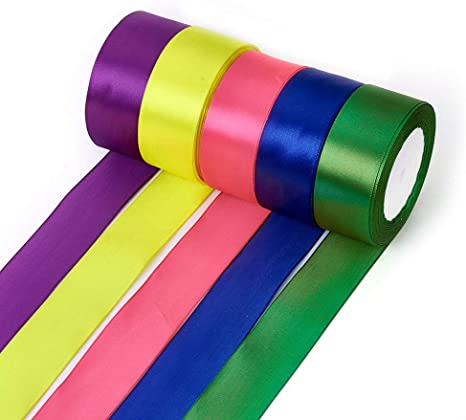 Satin Ribbon Size 20mm 25 Yards Rolls Choose from Colours BUY 3 /& GET 1 Free