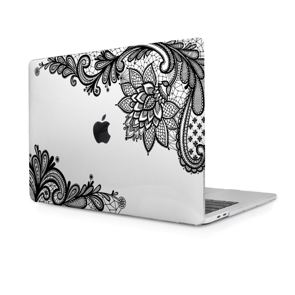Funda MacBook Air 13, TwoL Ultra Slim Plástico Funda Dura Carcasa para MacBook Air 13,3 Pulgadas A1466/A1369 Case Cover (Encaje Claro)